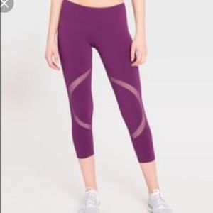 Splits59 Purple Cut Out Leggings